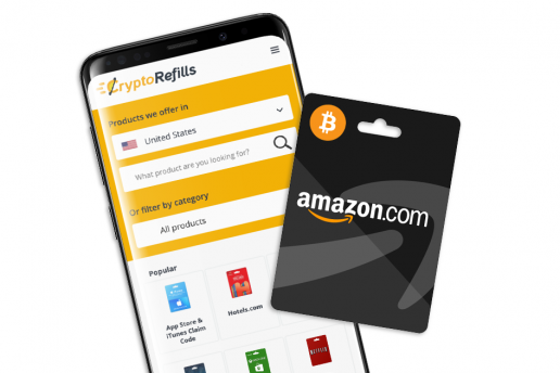 Amazon-Geschenkkarten mit Bitcoin kaufen