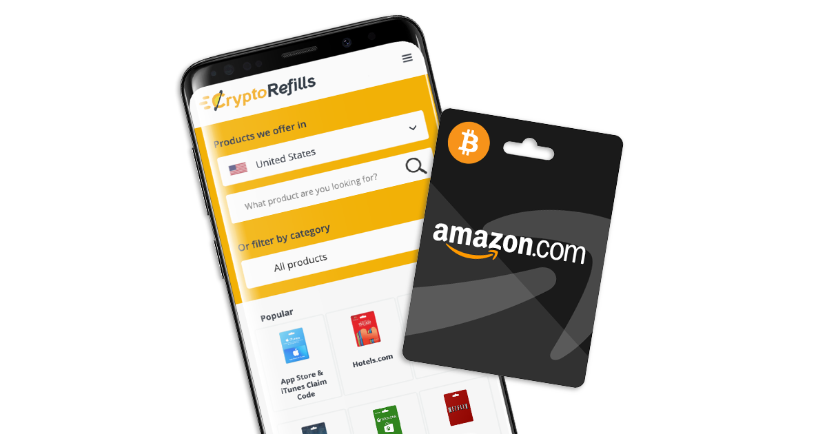 Buy Amazon Gift Cards with Bitcoin, Dash, Litecoin or ...