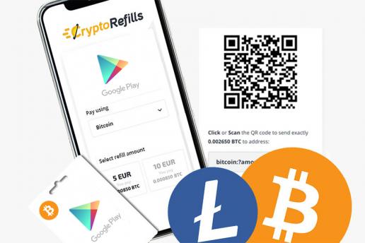 Google Play mit Bitcoin kaufen