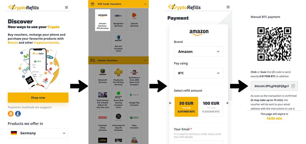 acquista la carta regalo ebay con bitcoin