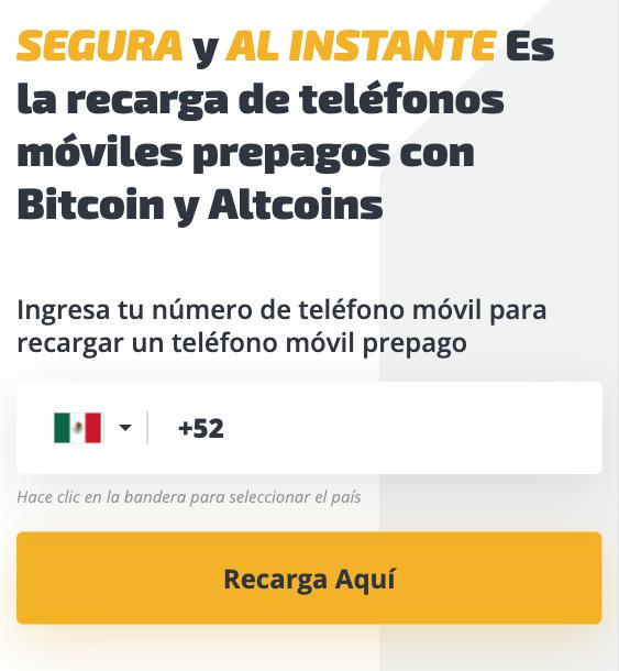 Cómo Comprar Recargas De Móviles Y Recargar Con Bitcoin Y Criptomonedas