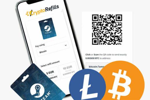 Acquista Carte Regalo Steam Con Bitcoin