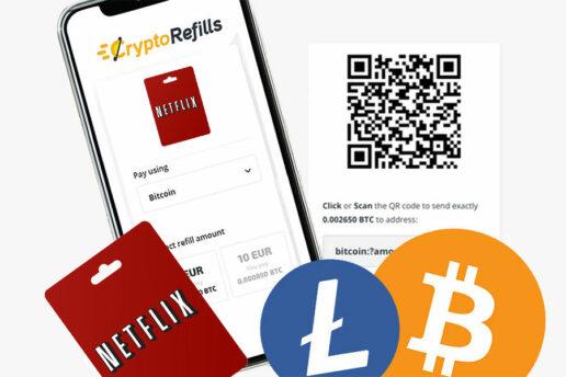 Come Acquistare carte regalo Netflix con Bitcoin