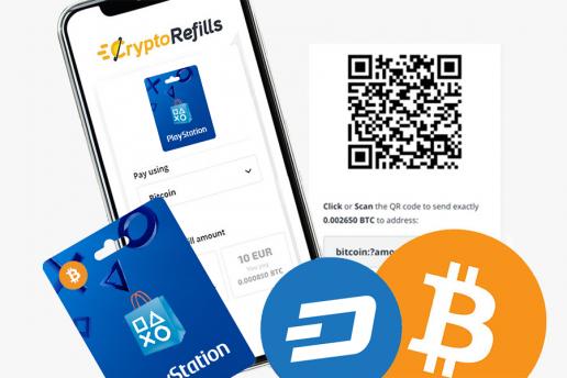 Compra Buoni PSN con Bitcoin e Altre Cripto