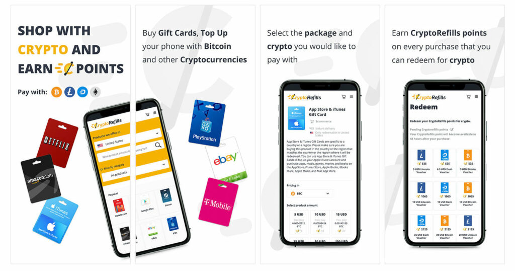 Shop with Bitcoin on your iPhone
