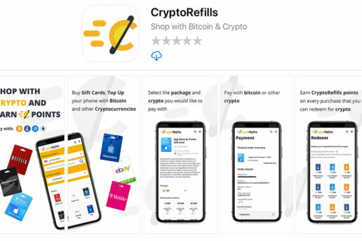 The CryptoRefills iPhone App