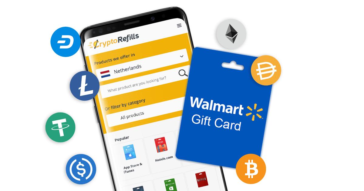 Buy Walmart Gift Card With Bitcoin