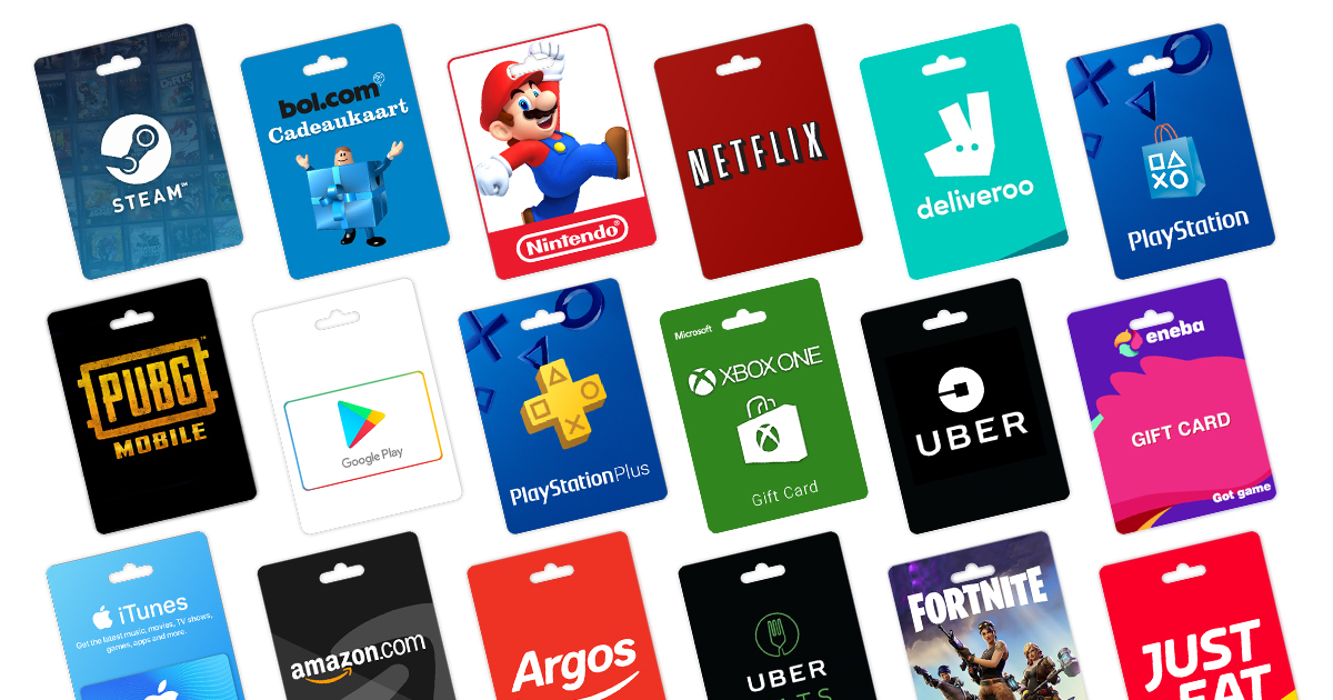Buy Gift Cards with Bitcoin in the United Kingdom